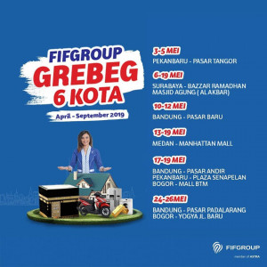 FIFGROUP IN 6 CITIES
