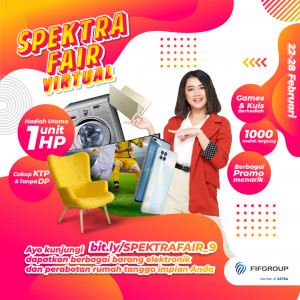 SPEKTRA FAIR VIRTUAL NOW OPEN!!